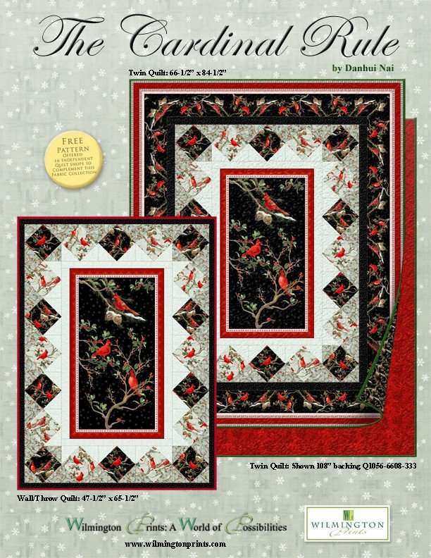 The Cardinal Rule Quilt Kit- Twin