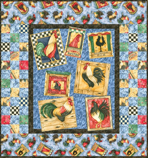 Chanticleer from Clothworks Kit