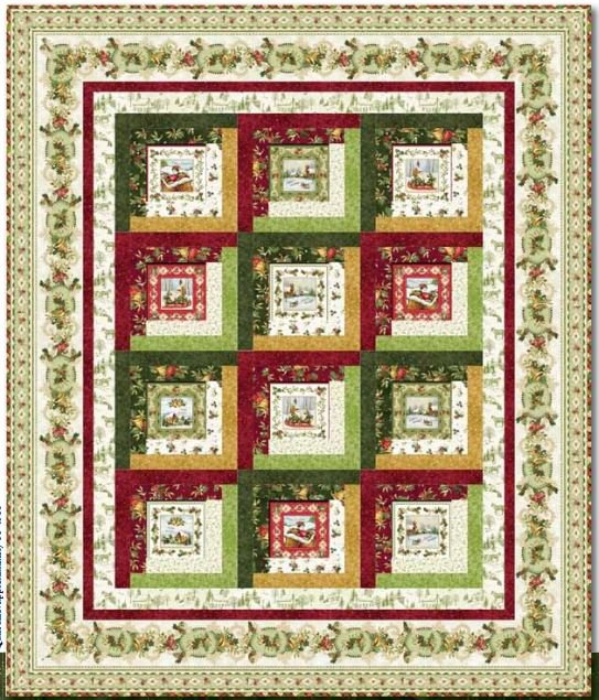 Christmas Bells Quilt Kit