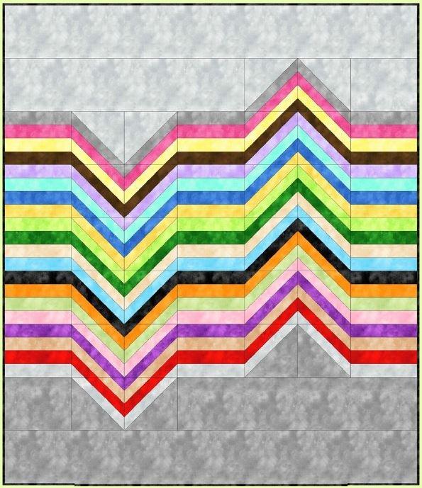 Colorbeat Quilt Kit