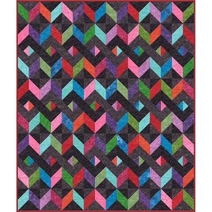Counterpoint Batik Quilt Kit
