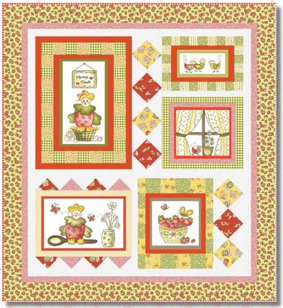 Country Cuisine Throw/Wall Hanging Kit