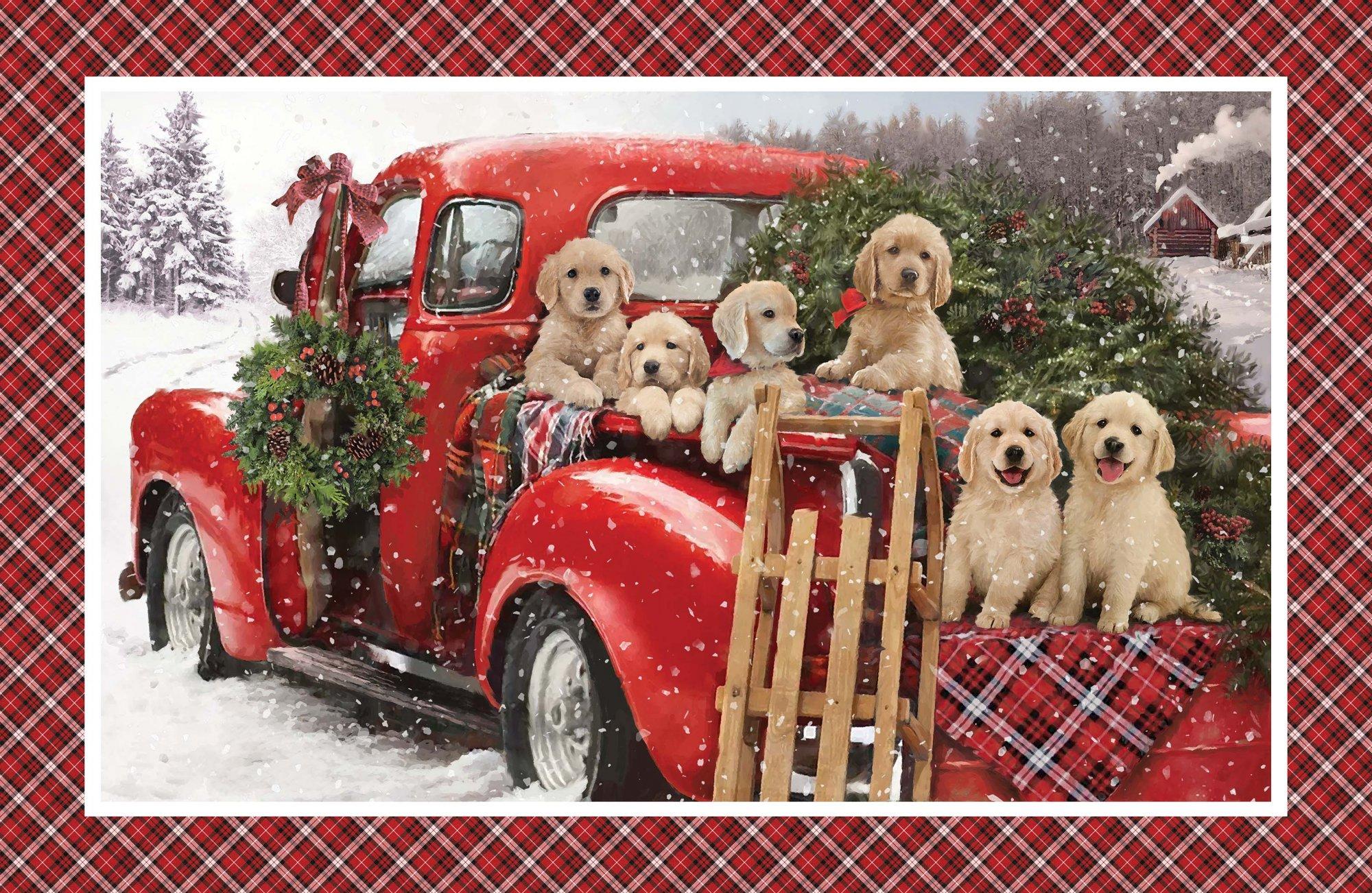 Santa's Helpers  DP23537-24