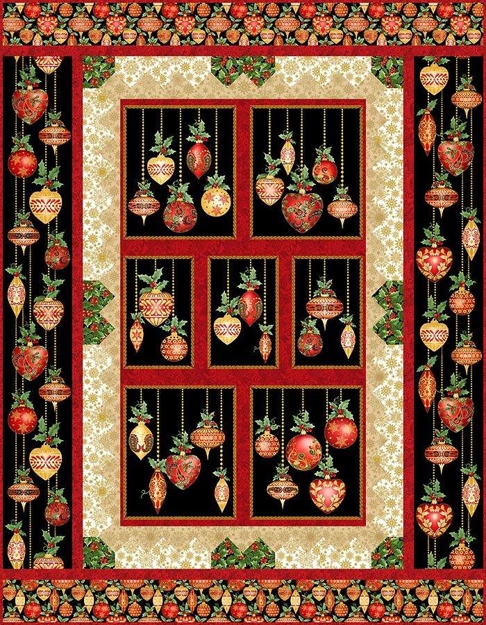 Festive Ornaments Quilt Kit