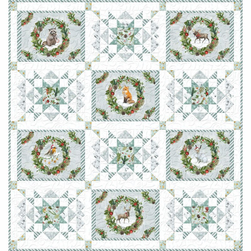 Friendly Gathering-1 Quilt Kit