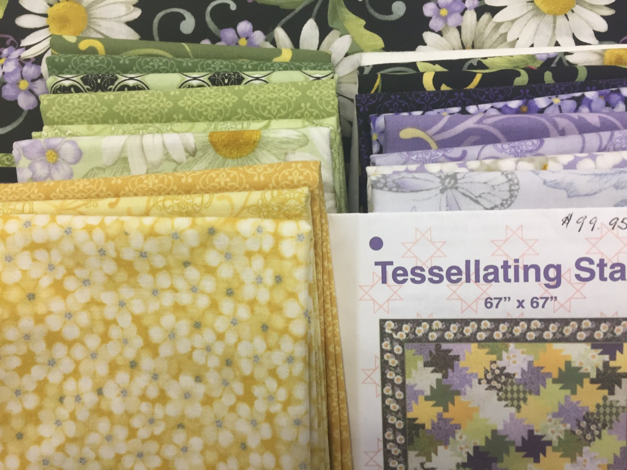 Tessellating Stars Quilt Kit featuring He Still Loves Me...