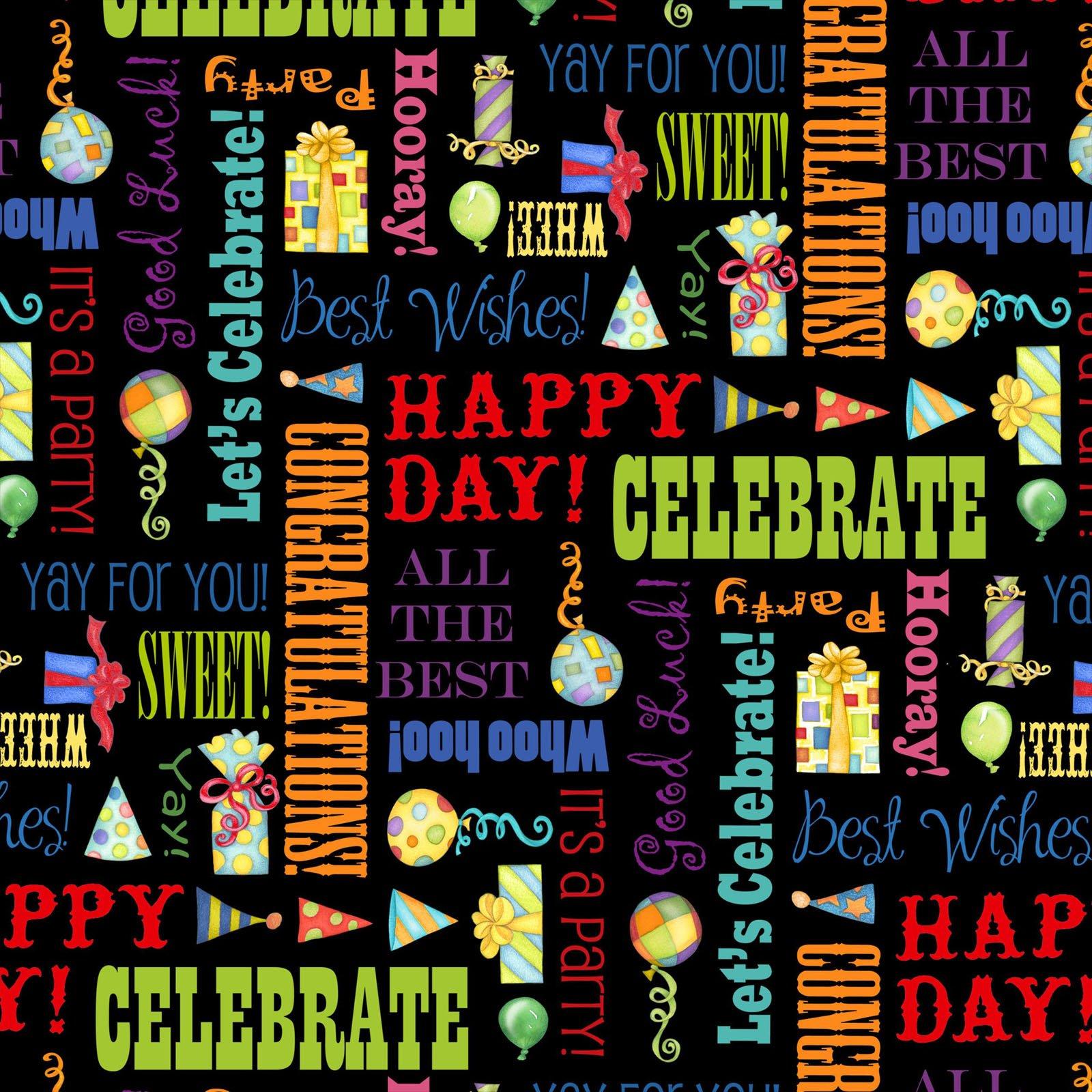 Lets's Celebrate