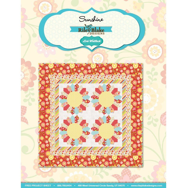 Sunshine Quilt Kit from Riley Blake