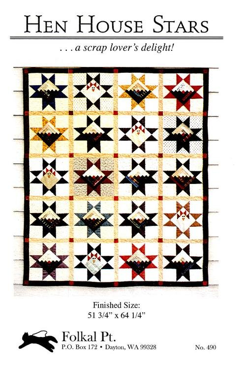 Hen House Stars pattern