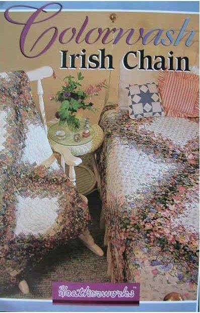 Colorwash Irish Chain Quilt Pattern