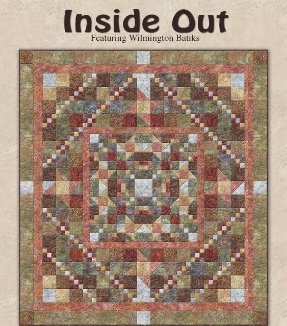 Inside Out Quilt Kit (Spice)