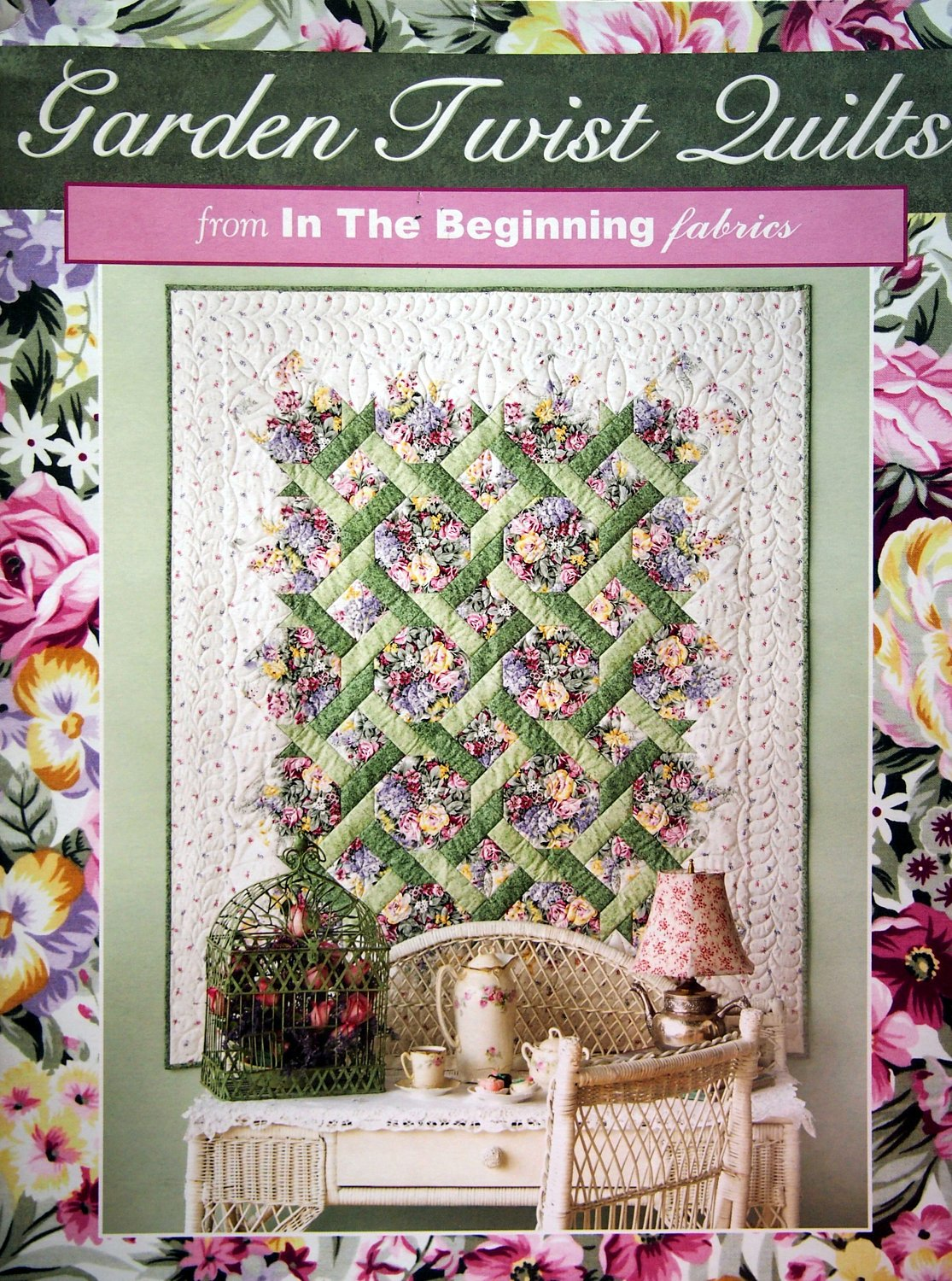 Garden Twist Quilt Kit featuring The Vintage Collection