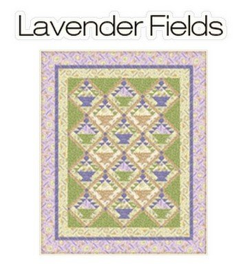 Lavendar Fileds Quilt Kit