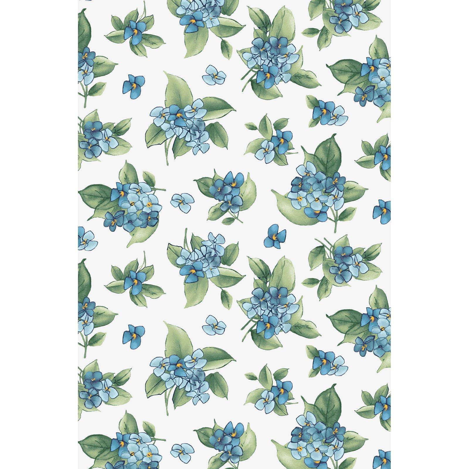 Watercolor Hydrangeas  MAS9339-B