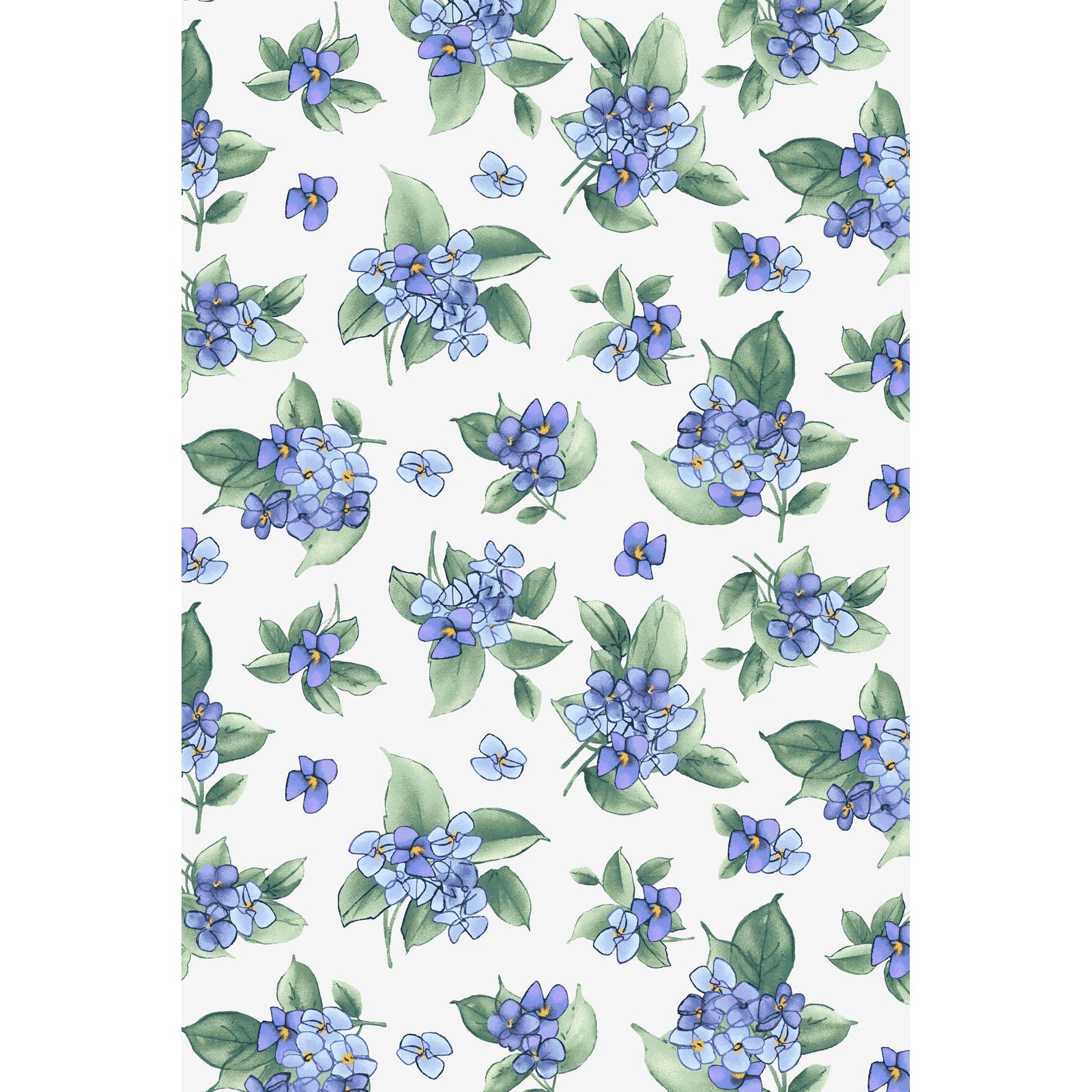 Watercolor Hydrangeas  MAS9339-V