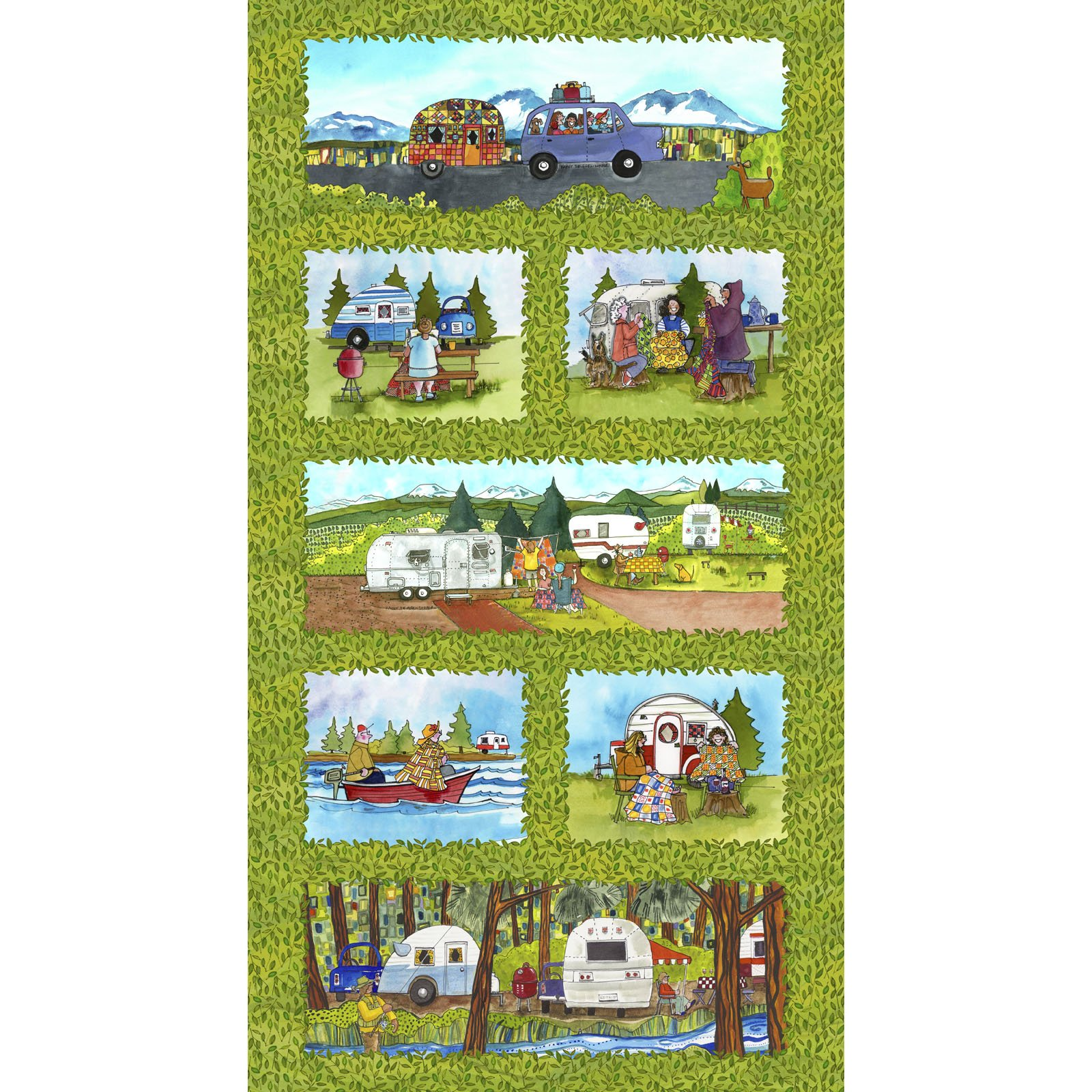 Quilter's Road Trip  MASD9190-Z