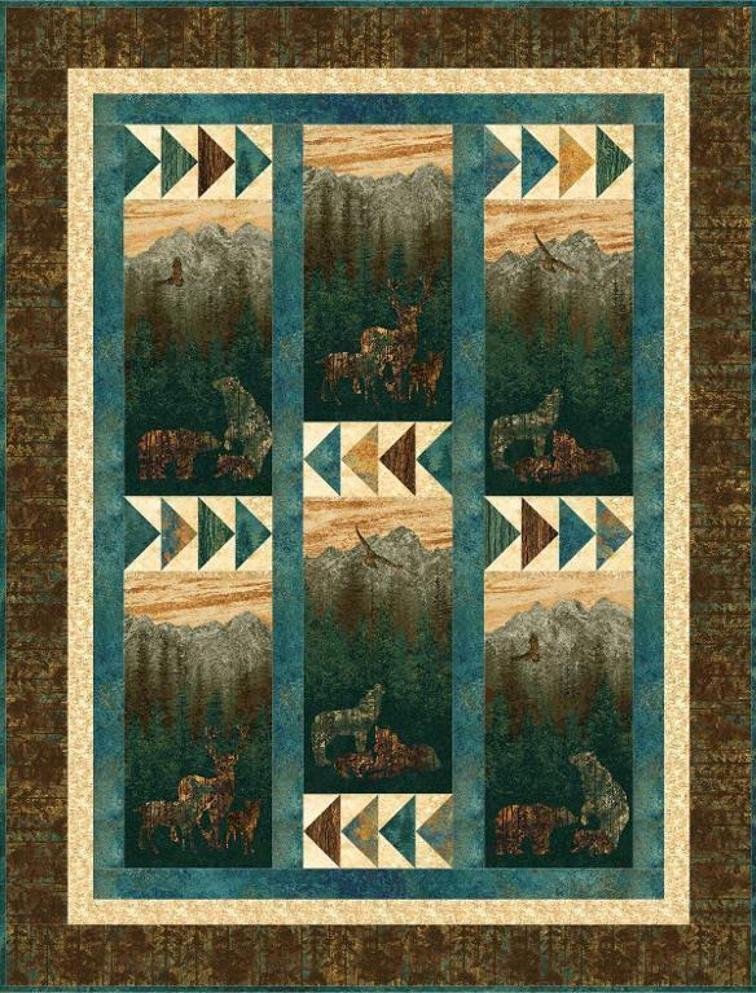 Mountain View Quilt Kit