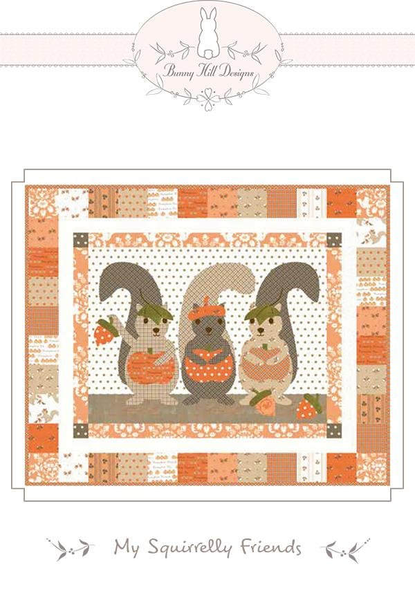 My Squirrely Friends Quilt Kit