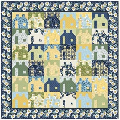 Neighborhood Quilt Kit
