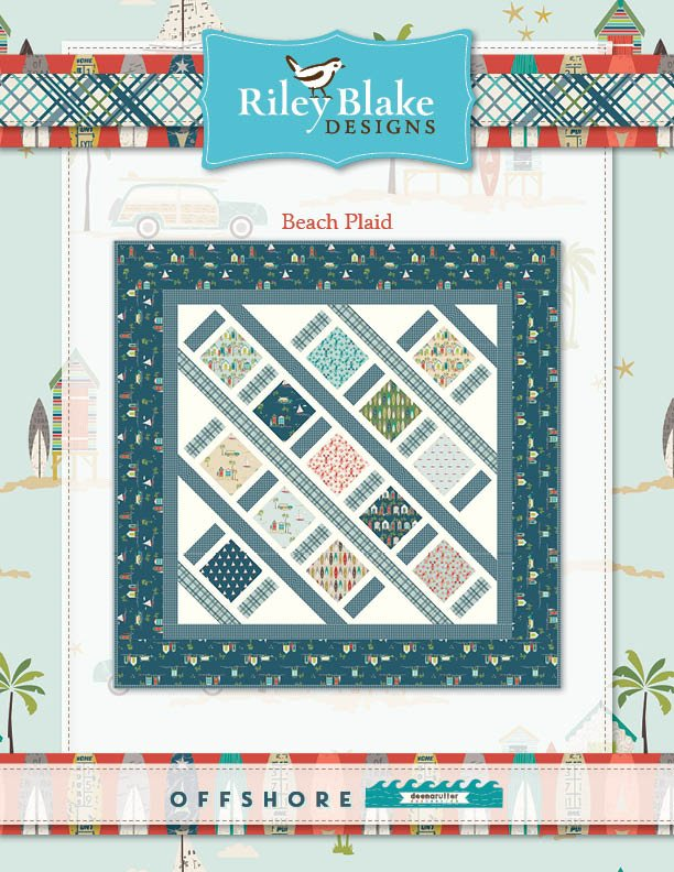Beach Plaid Quilt Kit