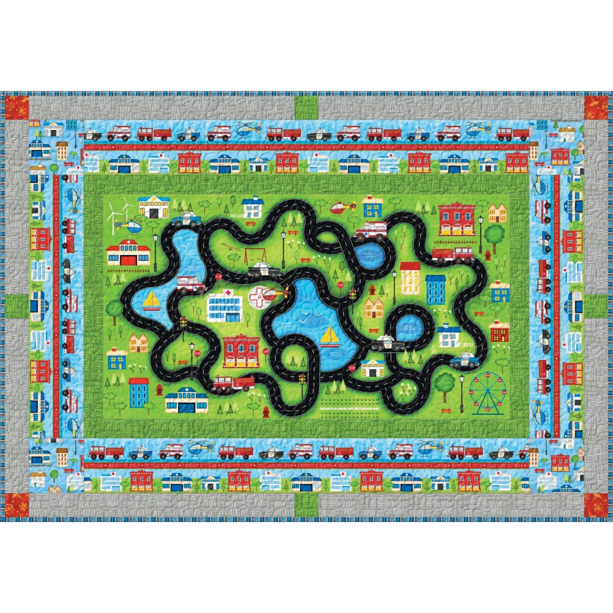 Help is on the Way Playmat Kit