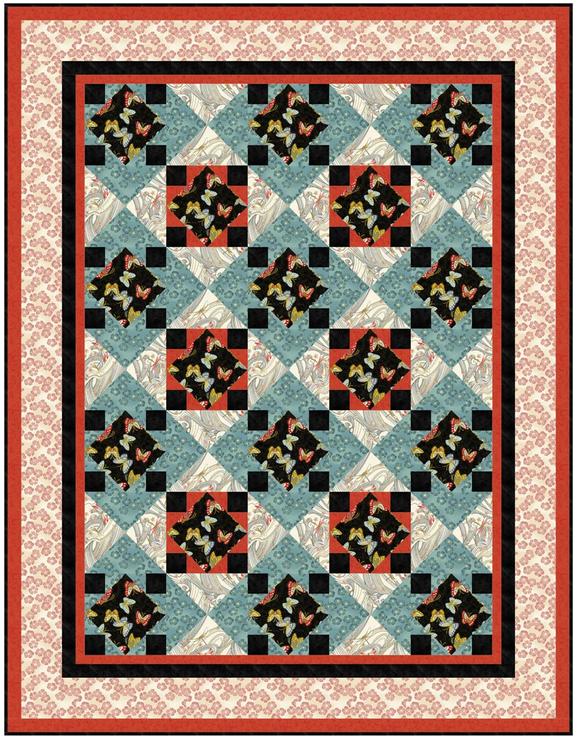 NIWA Four-Square Quilt (FREE Downloadable Pattern)