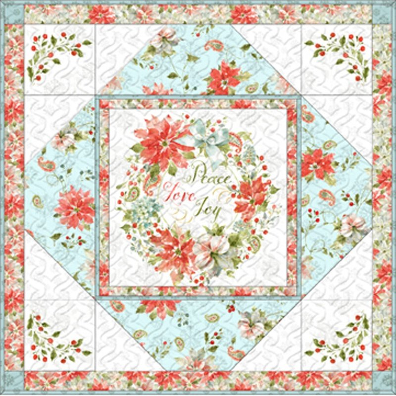 Magic of the Season Table Topper Kit - Icy Blue