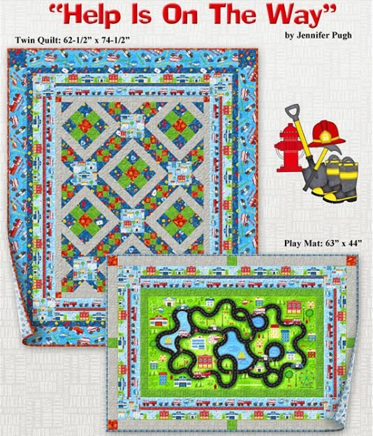 Help is on the Way Twin Quilt Kit