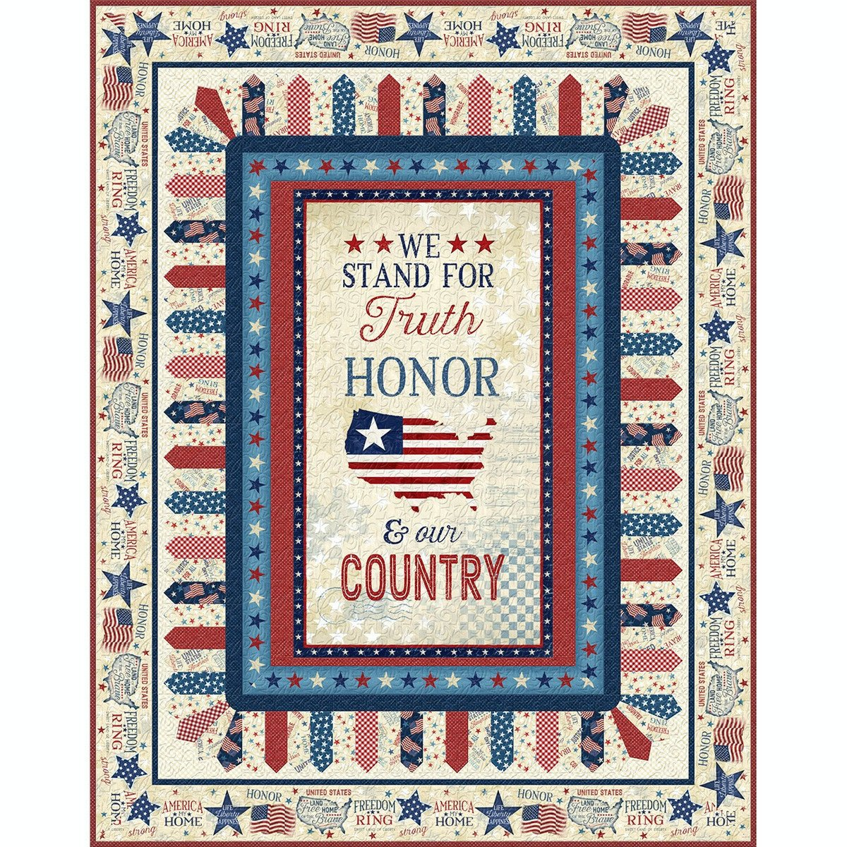 America, My Home Quilt Kit