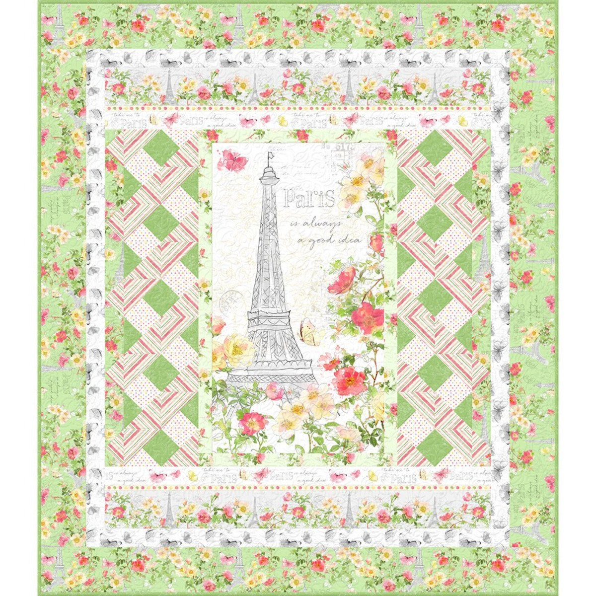 Painting Paris (Green Colorway)