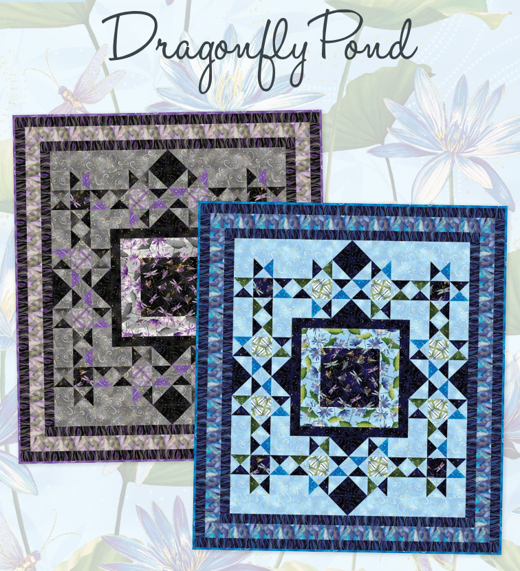 Dragonfly Pond (Blue Colorway)