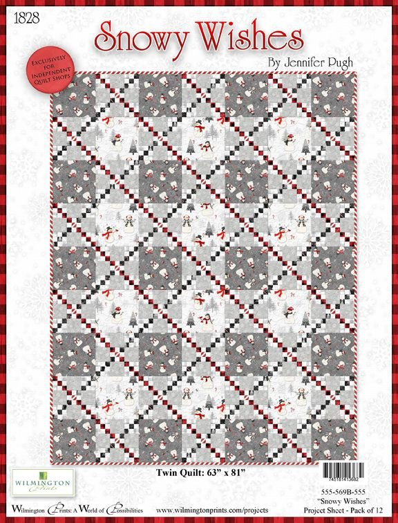 Snowy Wishes Quilt Kit