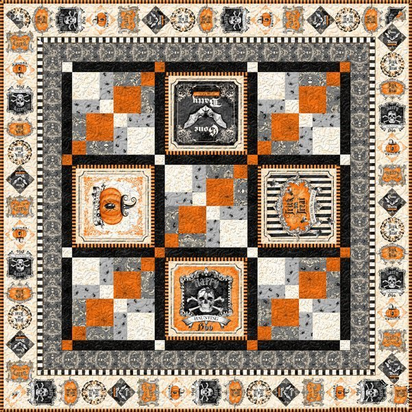 Gone Batty Quilt/Table Topper Kit
