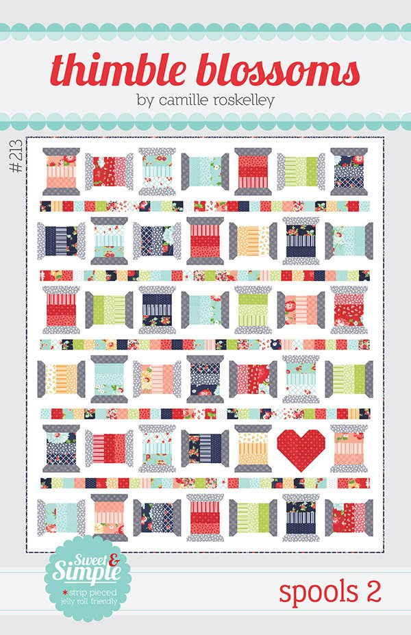 Spools 2 Quilt Kit