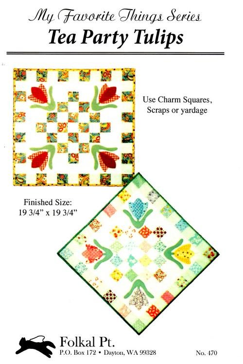 Tea Party Tulips pattern