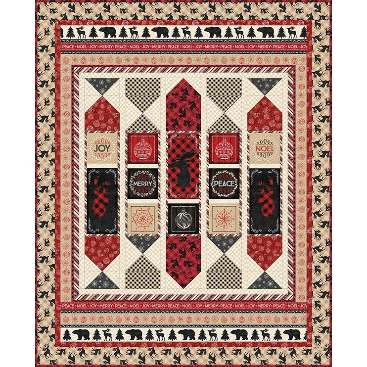 Plaid for the Holidays Quilt Kit