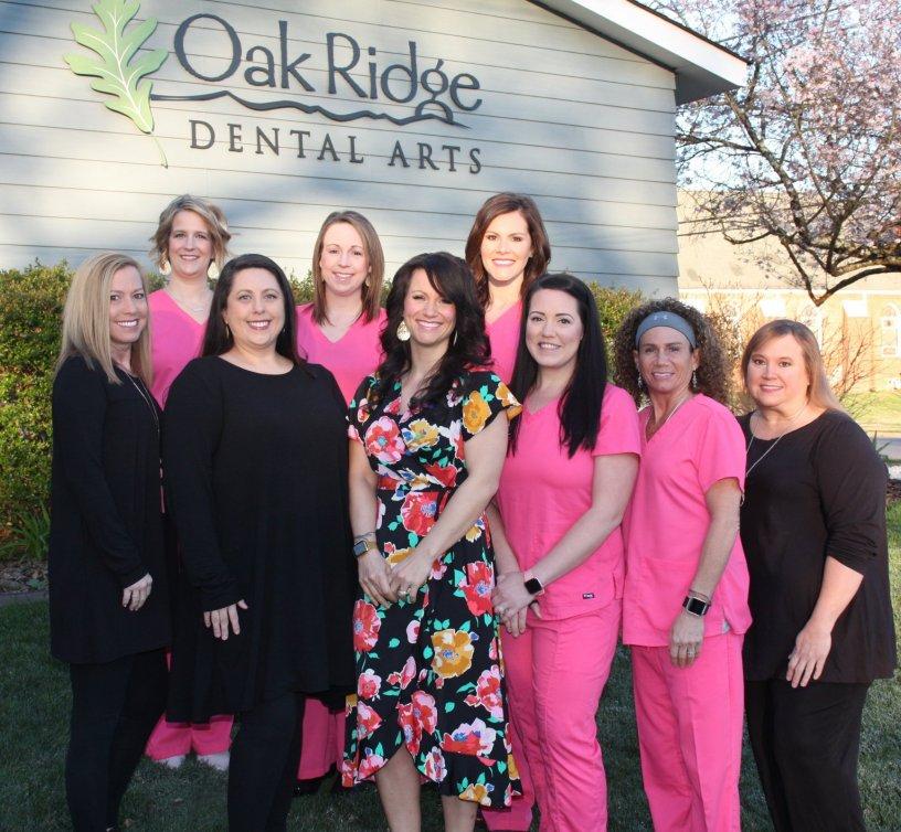 Oak Ridge Dental Arts Belmont Staff