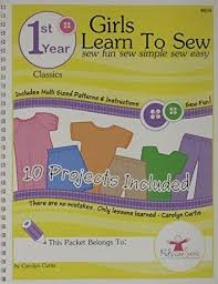Kids Can Sew Book 1 - Girl