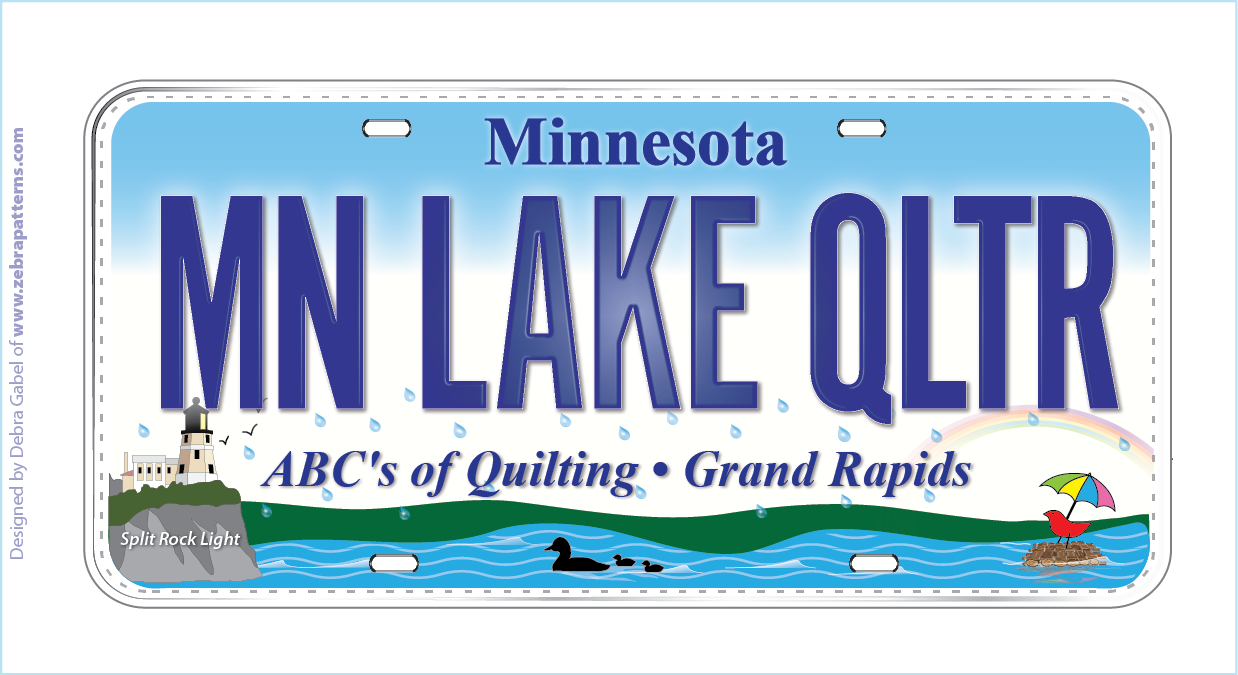 2015 Row by Row License Plate