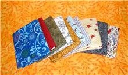 10 Fat Quarters in a Bundle