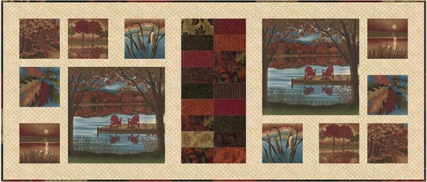Autumn Reflections Table Runner Kit
