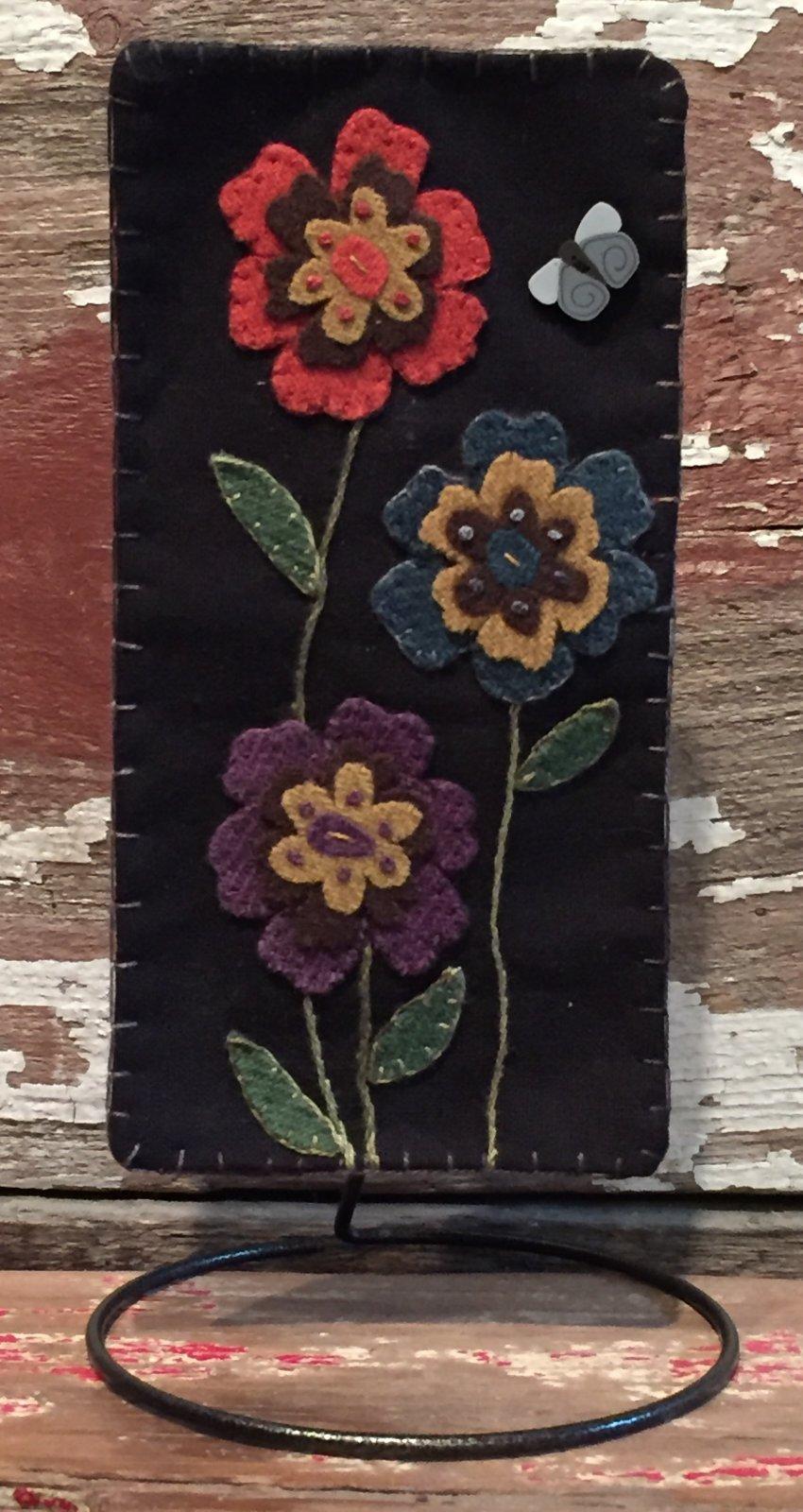 Vintage Garden Wool Pattern