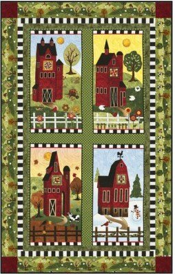 Skinny Barns Trio Wall Quilt Kit