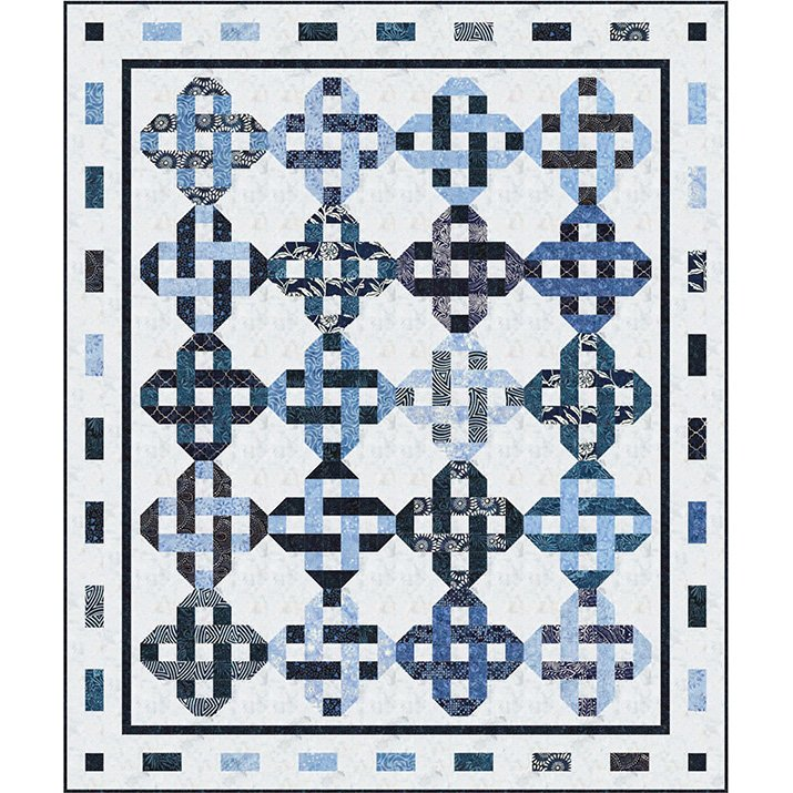 Tonga Indigo Dreams Quilt KIt