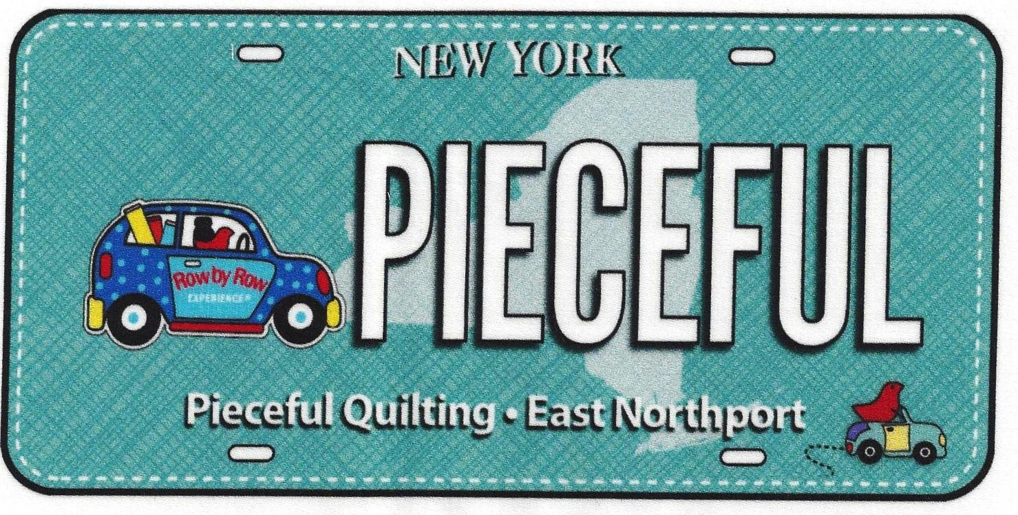 Pieceful License Plate