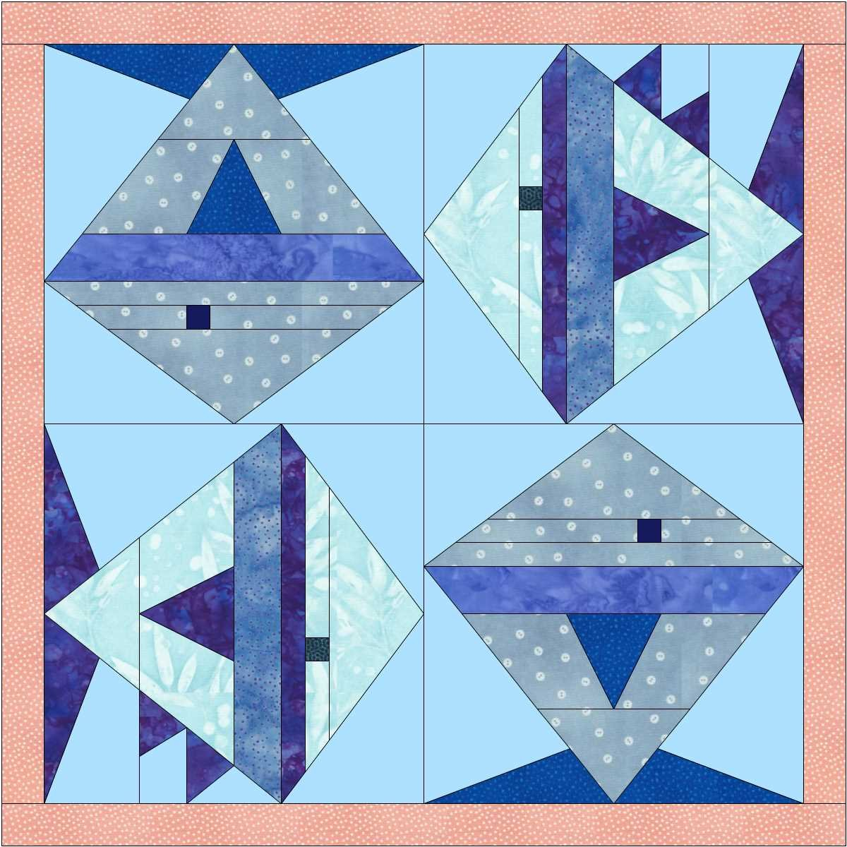 2020 Quilters Trek Blocks