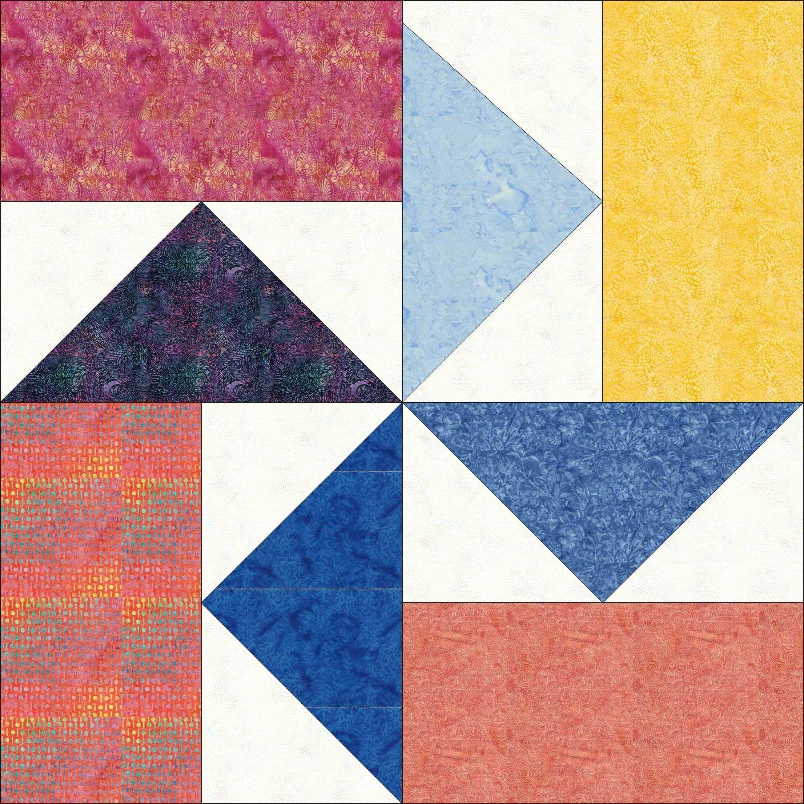 Sewing Sewcial 2021 Kindness Block