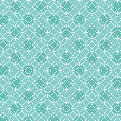 Bree Dot Circle Aqua Color #24