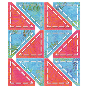 Go! Half Square Triangle 2 #55063