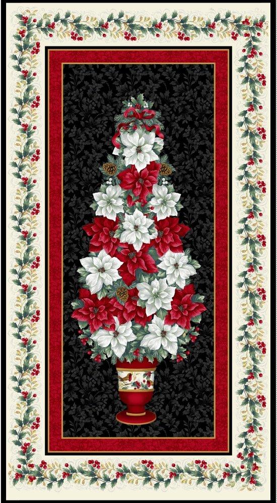 Blank  - Holiday Trim PANEL 8597-99